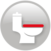 Emergency repair to leaky toilet